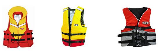 Life jackets stowage rules